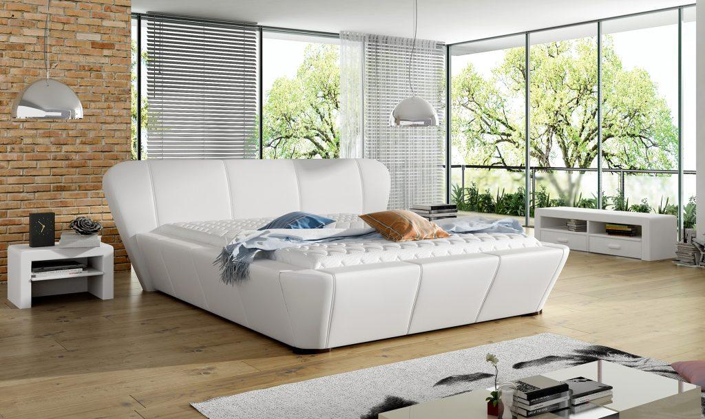 Textilbőr ágykeretek